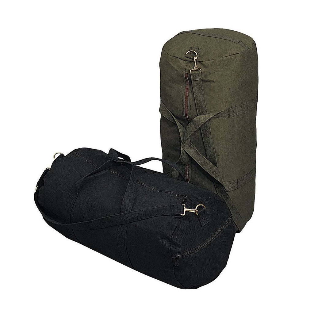 Heavyweight Canvas Shoulder Duffle Bag 85f2ac2c5435f