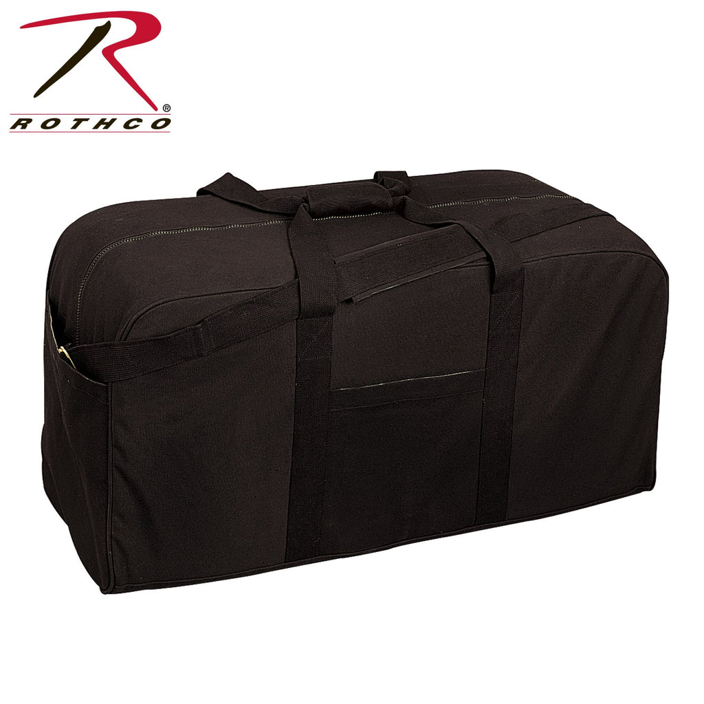 aba63e47be12 G.I. Style Canvas Double Strap Duffle Bag