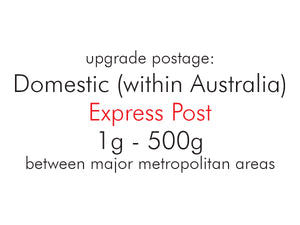 Upgrade Postage: Domestic (within Australia) Express Post 1g - 200g