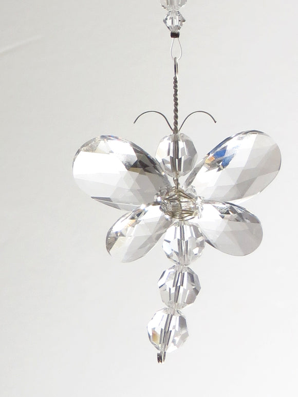 Swarovski Crystal Dragonfly Ornament Suncatcher
