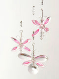 Pink Butterfly Mobile (4 piece)