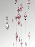 Medium: Light Pink Swarovski Crystal Chandelier Mobile