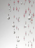 Large: Light Pink Swarovski Crystal Chandelier Mobile Suncatcher
