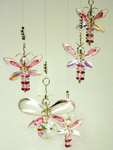 Pink Butterfly / Fairy Mobile (6 piece)