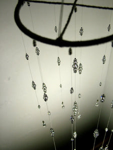 Small: Clear Swarovski Crystal Mobile Suncatcher