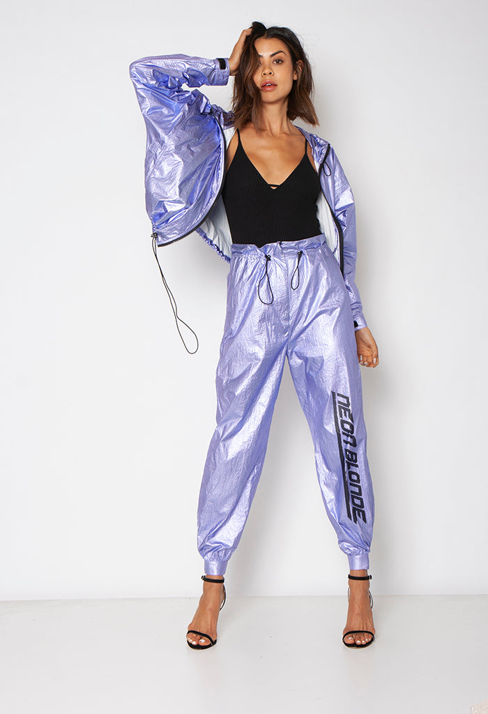 TRACK STAR PANT - LILAC - Neon Blonde