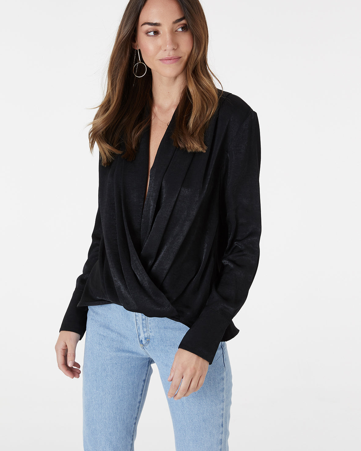 WORTH IT TOP - BLACK