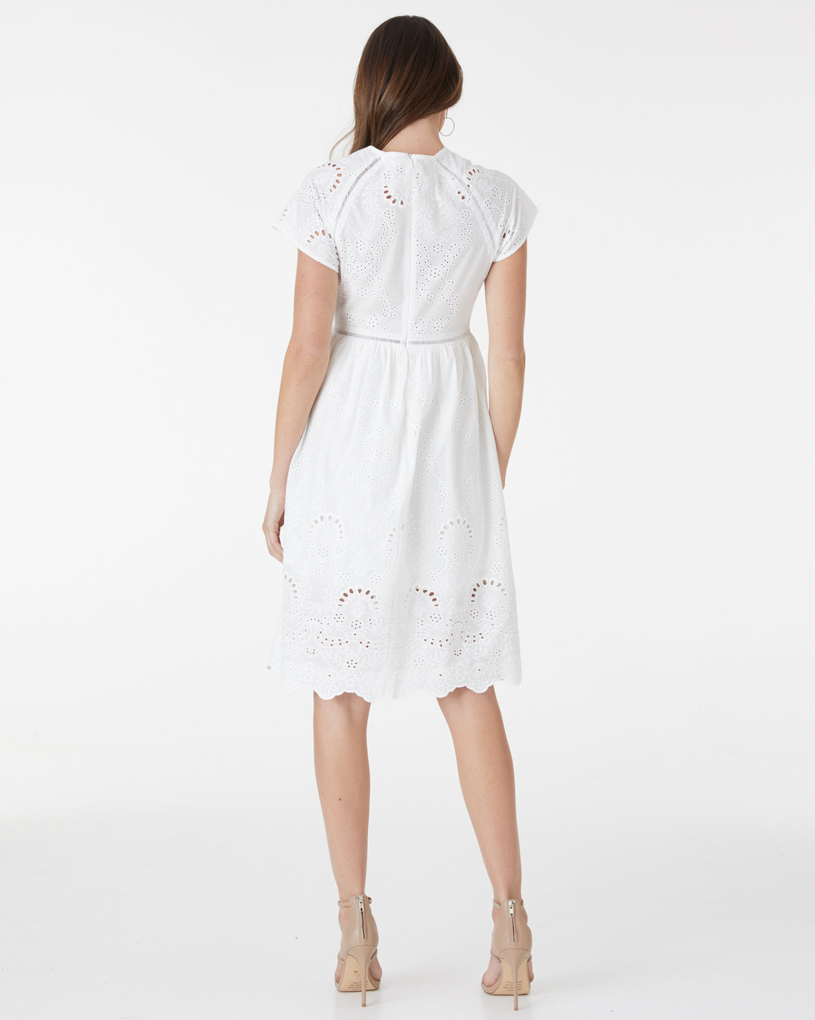 HAVANA LACE DRESS - WHITE