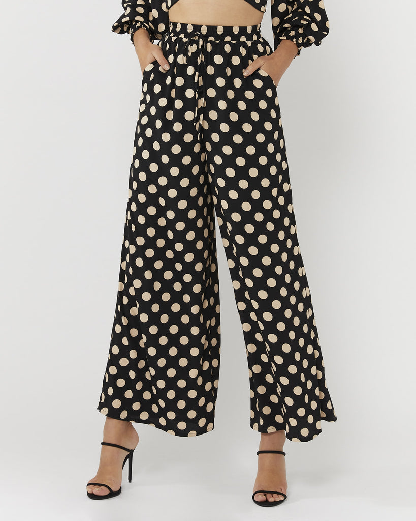 LIFELINE PANTS - BLACK NUDE SPOT