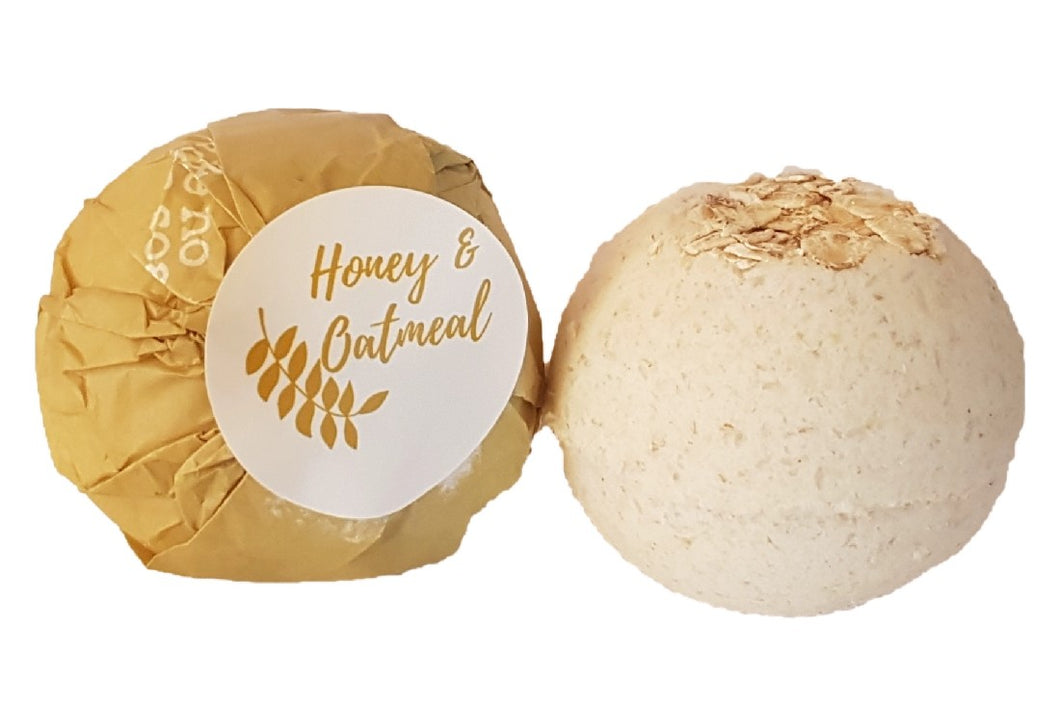 LIKE NO UDDER SOAP BATH BOMB - HONEY & OATMEAL