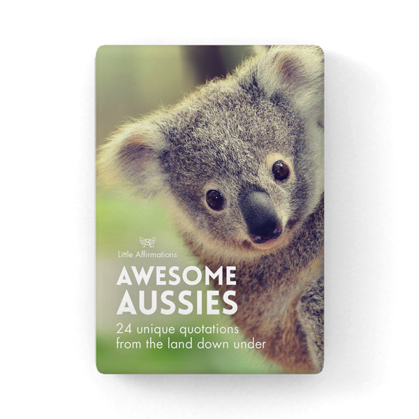 LITTLE AFFIRMATIONS - AWESOME AUSSIES