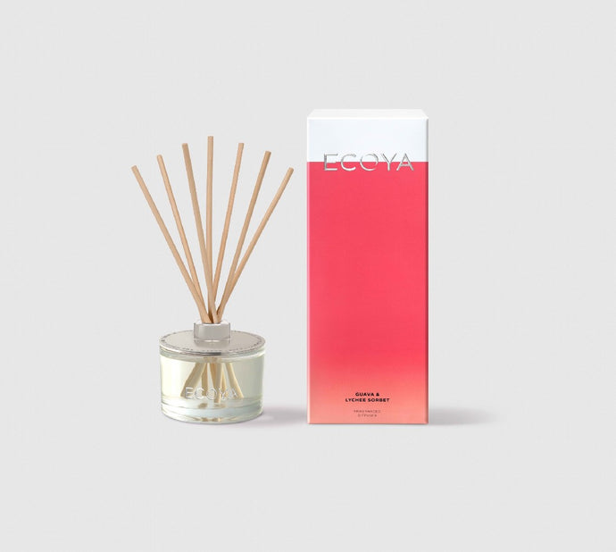 ECOYA REED DIFFUSER GUAVA & LYCHEE