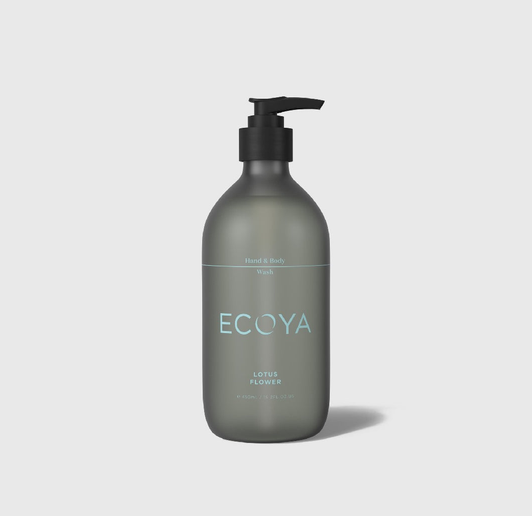 ECOYA HAND & BODY WASH - LOTUS FLOWER