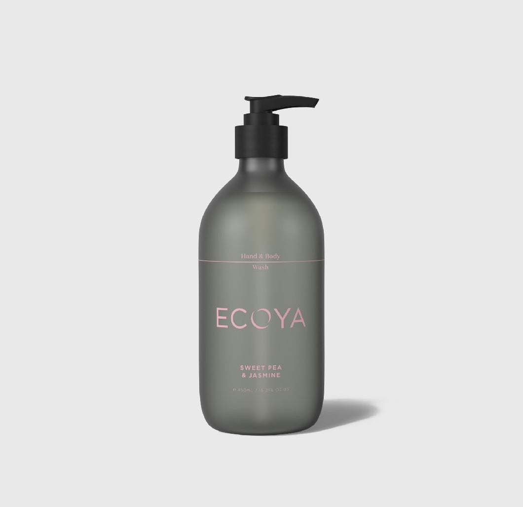 ECOYA HAND & BODY WASH - SWEET PEA & JASMINE