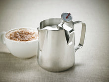 Load image into Gallery viewer, LEAF & BEAN FROTHING JUG & THERMOMETER 600ML