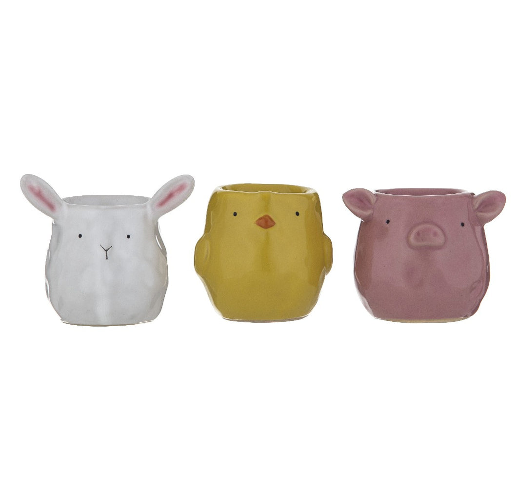 FARM FRIENDS EGG CUPS ASST