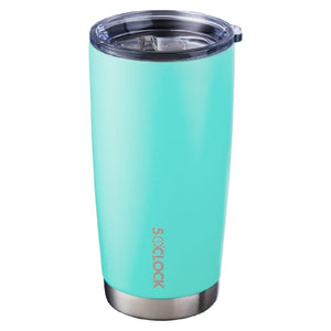 5 OCLOCK STAINLESS INSULATED TUMBLER - SEAFOAM GREEN