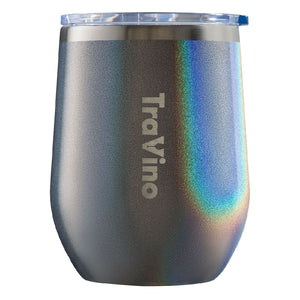 TRAVINO STEMLESS 12OZ TUMBLER - CHARCOAL