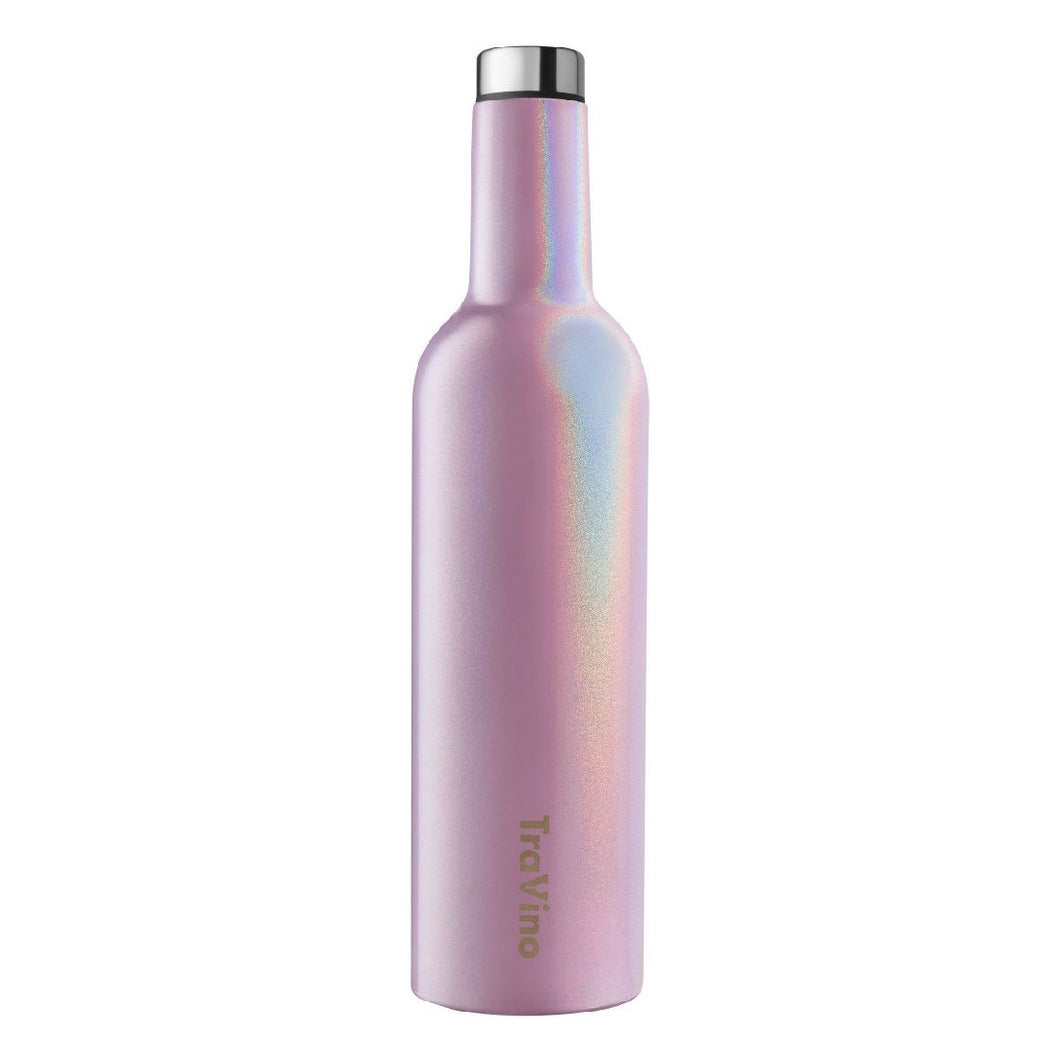 TRAVINO INSULATED WINE FLASK - BLUSH PINK