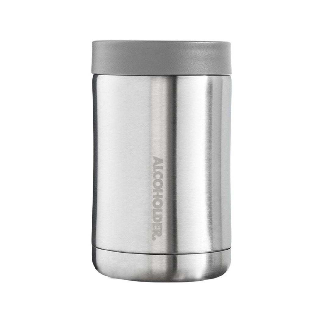 STUB ZERO CAN & BOTTLE COOLER - STAINLESS STEEL