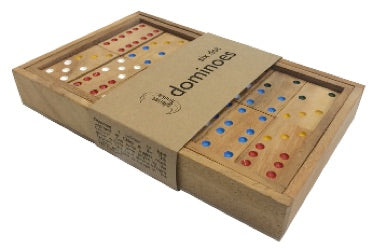 SIX DOT DOMINOES IN BOX