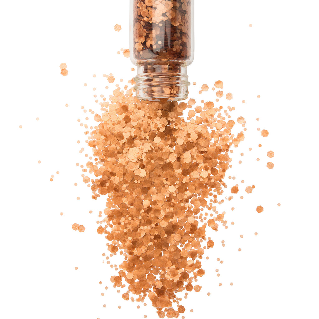 BRONZED GODDESS IRIDESCENT BIODEGRADABLE GLITTER