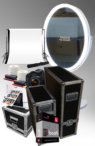 OVAL VANITY MIRROR PHOTO BOOTH BUSINESS BUNDLE PACKAGE