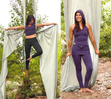 Libra Leggings: Skirted Yoga Pants. Organic Cotton High-Waist Versatile Leggings | Leggings | Made in the USA | AraStarApparel