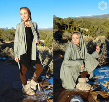 Cassiopeia: Drape Cardigan. Versatile Shawl Wrap | Cardigans | Made in the USA | AraStarApparel