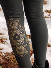Lyra Leggings: Yoga Pants with Mini Skirt. Skirted Leggings | Leggings | Made in the USA | AraStarApparel