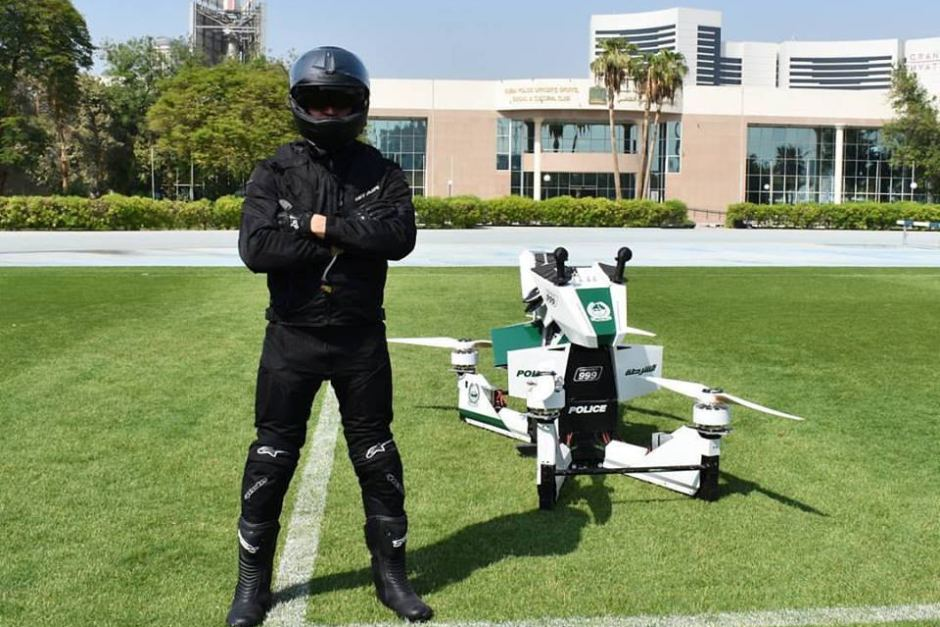 Dubai Police Officers will glide through streets on hoverbikes - just like in the movies