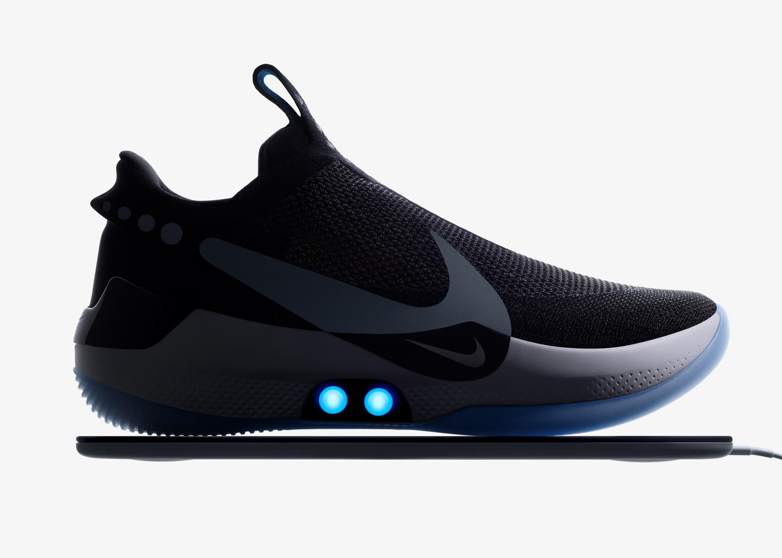 No need to tie your shoe laces with Nike Adapt self-lacing footwear