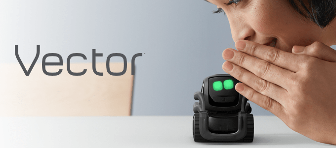 Ever wanted your own pet robot? Then you'll definitely want to adopt Vector.