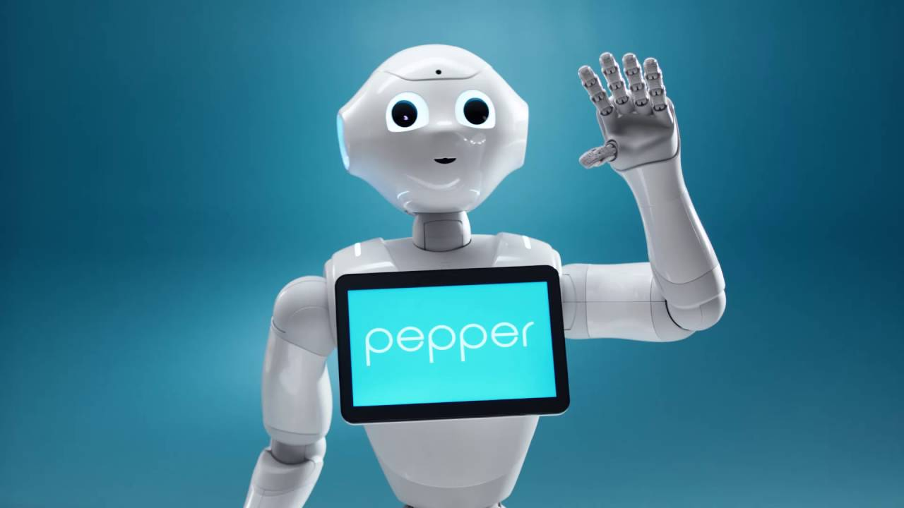 Pepper the robot addresses UK parliament about the future of AI in education