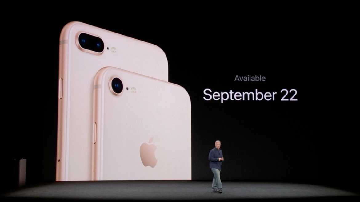 iPhone 8 and iPhone 8 Plus Announced