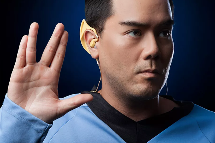 Vulcan Wireless Earbuds for the Star Trek fan in you