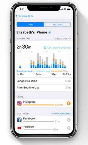 Apple_ios12_Screentime