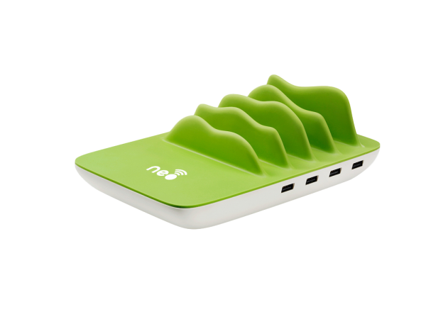 Neo Wireless Charging Station - Green