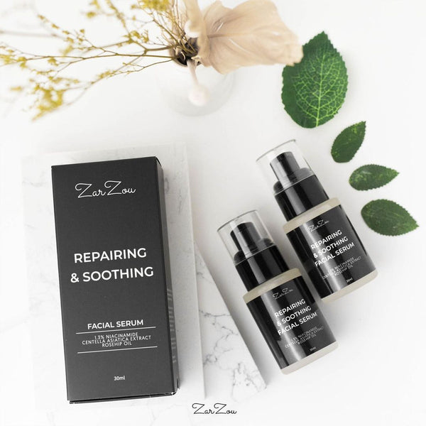 ZARZOU BEAUTY Repairing & Soothing Facial Serum