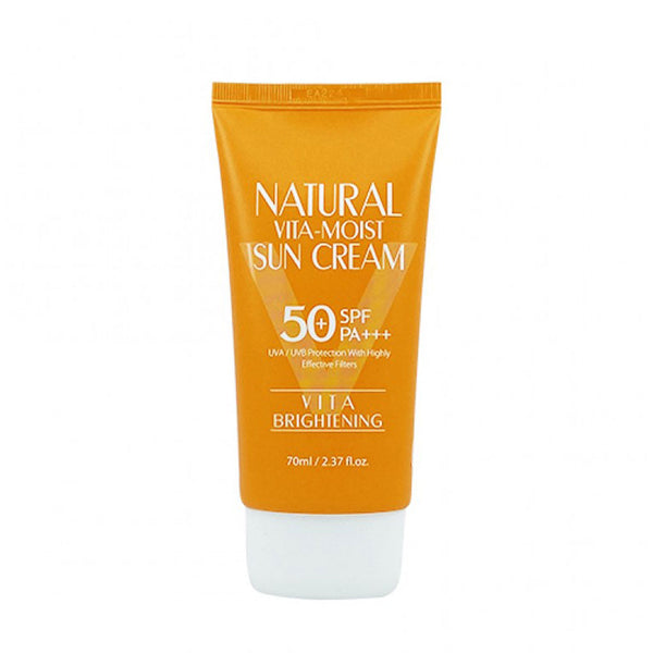 3W Clinic Natural Vita Moist Sun Cream SPF50+ PA+++