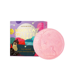 Always Be Pure Mooncat Sweet Pea Soap + FREE Bubble Net