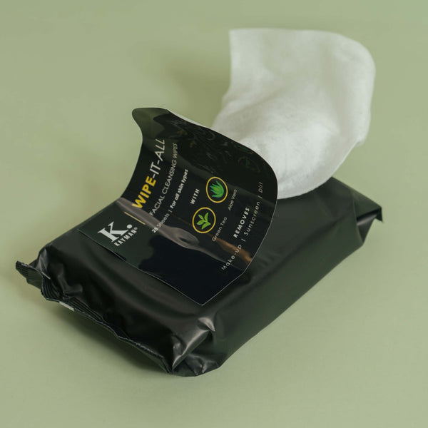KAYMAN BEAUTY Wipe-It-All Facial Cleansing Wipes