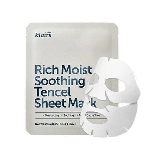 Klairs Rich Moist Soothing Tencel Sheet Mask