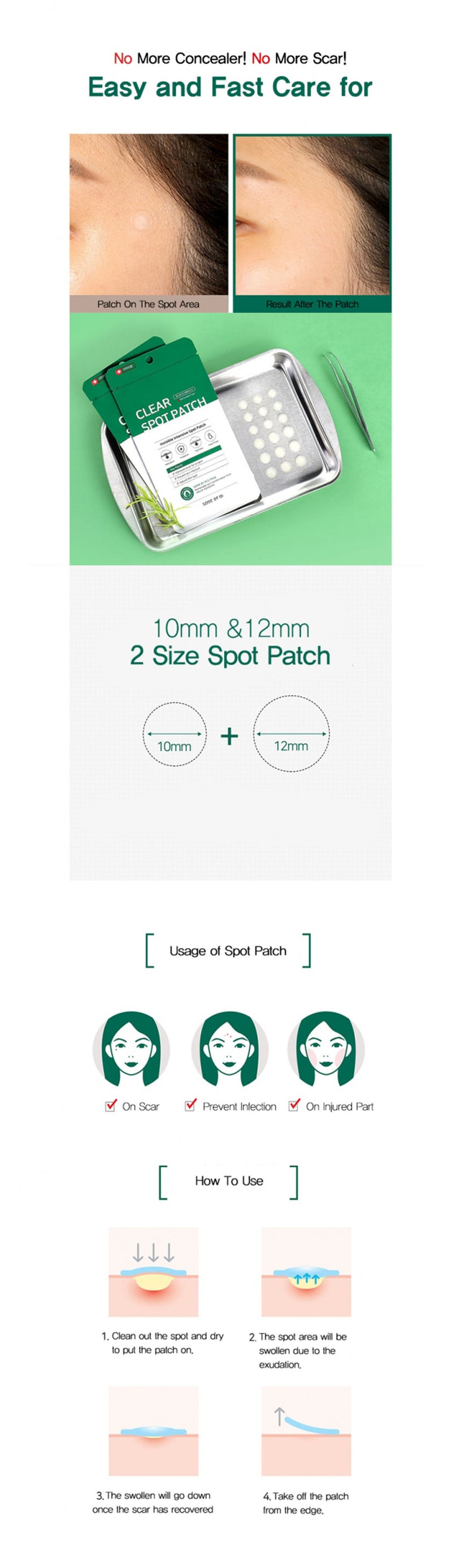 Some By Mi 30 Days Miracle Clear Spot Patch (18 patches)