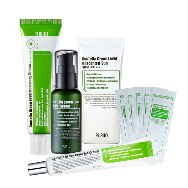 PURITO Centella Green Level Set