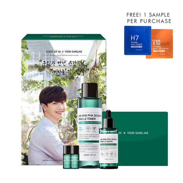 Some By Mi x Yook Sung Jae Miracle Set