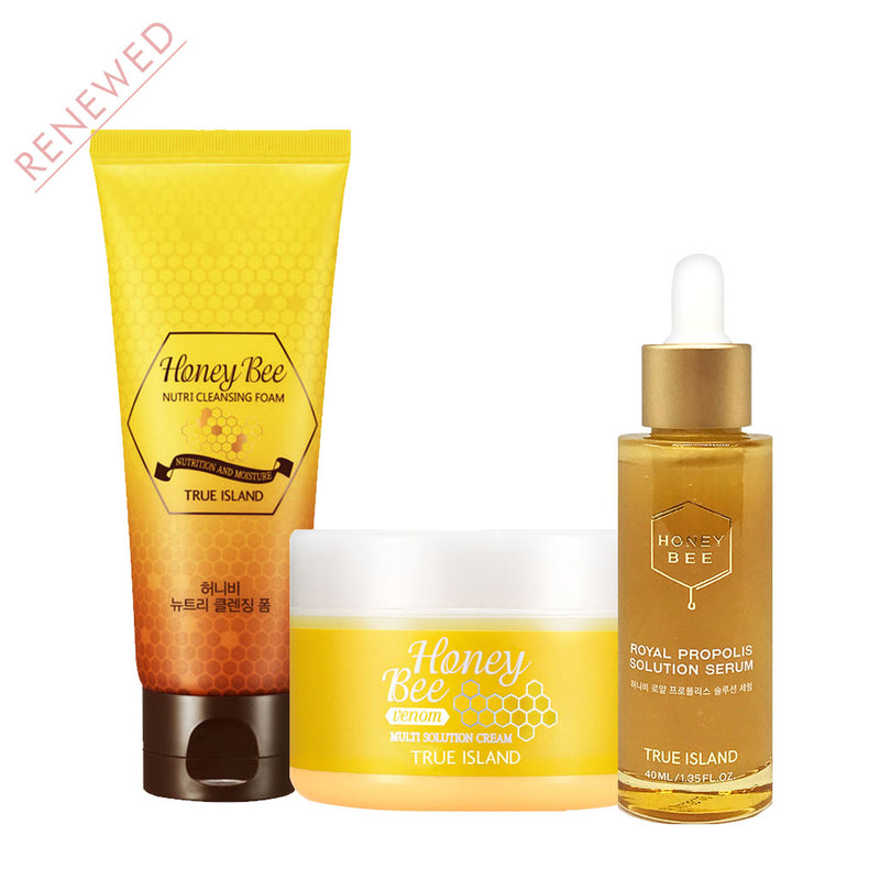 True Island Honey Bee Set