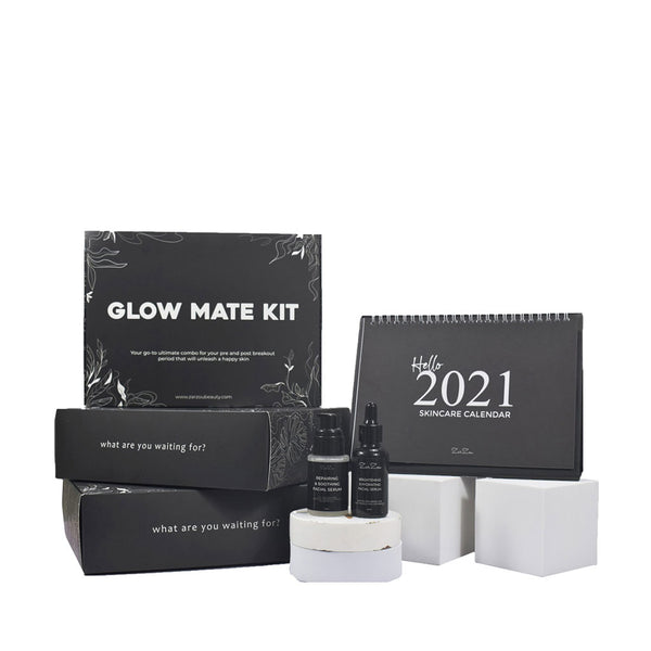 ZARZOU BEAUTY LIMITED EDITION: GLOW MATE KIT