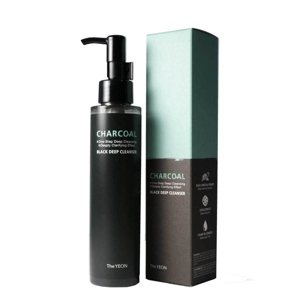 The Yeon Charcoal Black Deep Cleanser