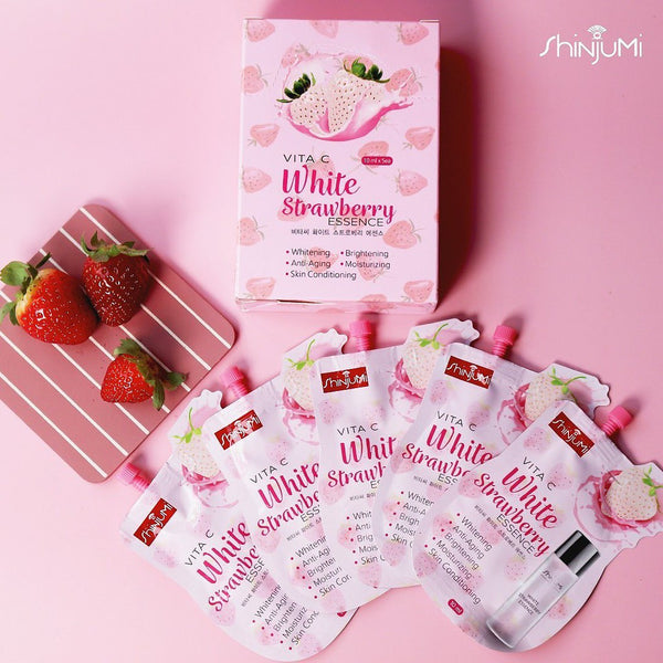 Shinjumi Vita C White Strawberry Essence